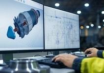 Engineering & Design - engineer designing on software - Featured Image